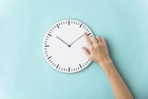 時刻を決める